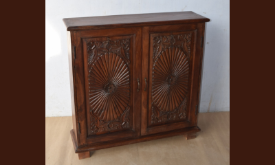 Rich Right Solid Wood Hall Chest