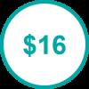 USD 16 TP