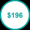 USD 196 TP