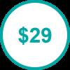 USD 29 TP
