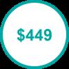USD 449 TP